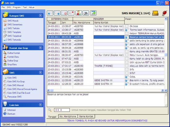Inbox Gili-SMS