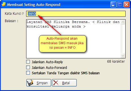 Membuat Seting Auto-Respond
