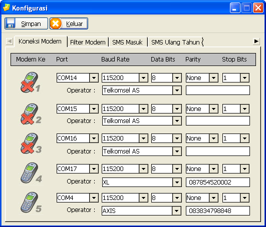 konfigurasi-gili-sms-koneksi-modem