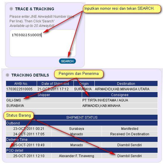 jne-tracking