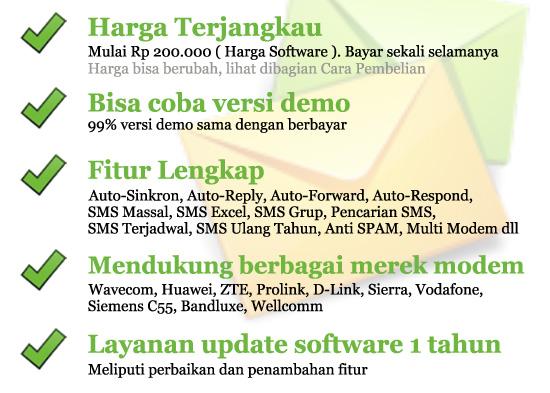Gili-SMS, software SMS terbaik dan termurah