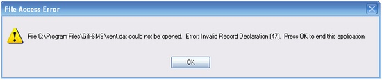 dialog-invalid-record-declaration