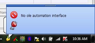 no-ole-automation-interface