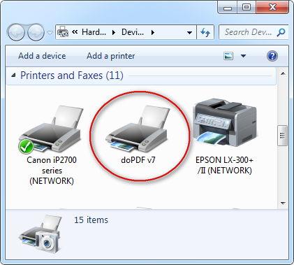 dopdf-printer